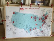 A map of the fleet.