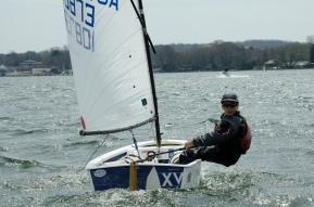 JC Hermus - 4th Overall, 1st Blue Fleet - Team Trials, Opti Worlds 2013 Team USA member