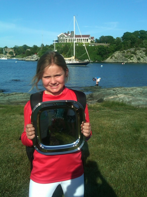 Vanessa Lahrkamp - White fleet champ 2014 SailNewport Youth Challenge